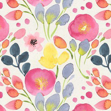 Sommer-Mohnblumen von irtsya