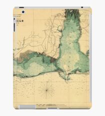 Map Of Mobile 1864 iPad Case/Skin