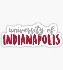 University of Indianapolis Sticker