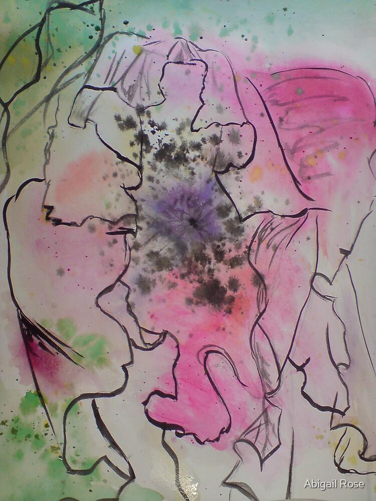 Ink Flower by Abigail Rose