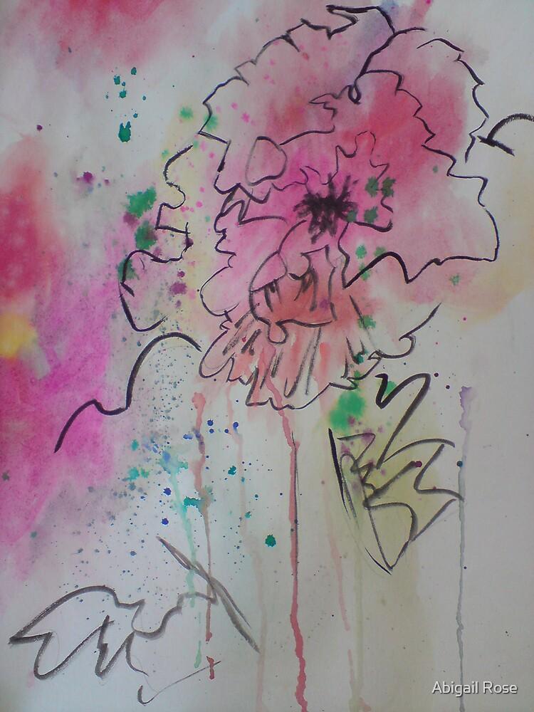 Flower Ink by Abigail Rose