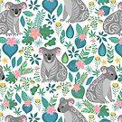 Floral Koala by BekkaCampbell