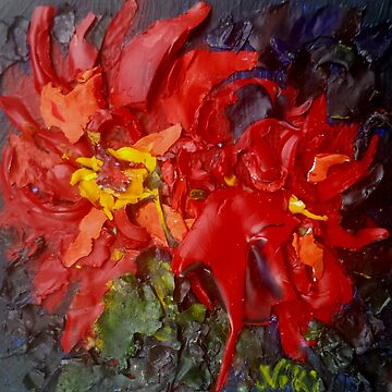 Scarlet (Acrylic) by nikihilsabeck