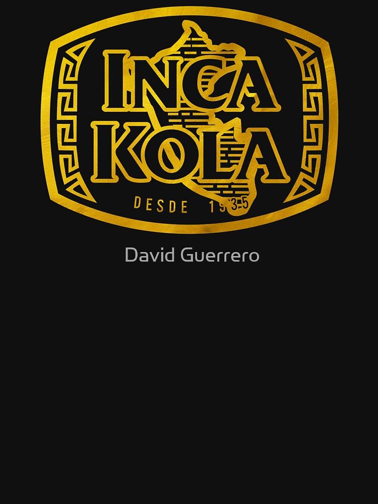 INCA KOLA - GOLD von DisobeyTees