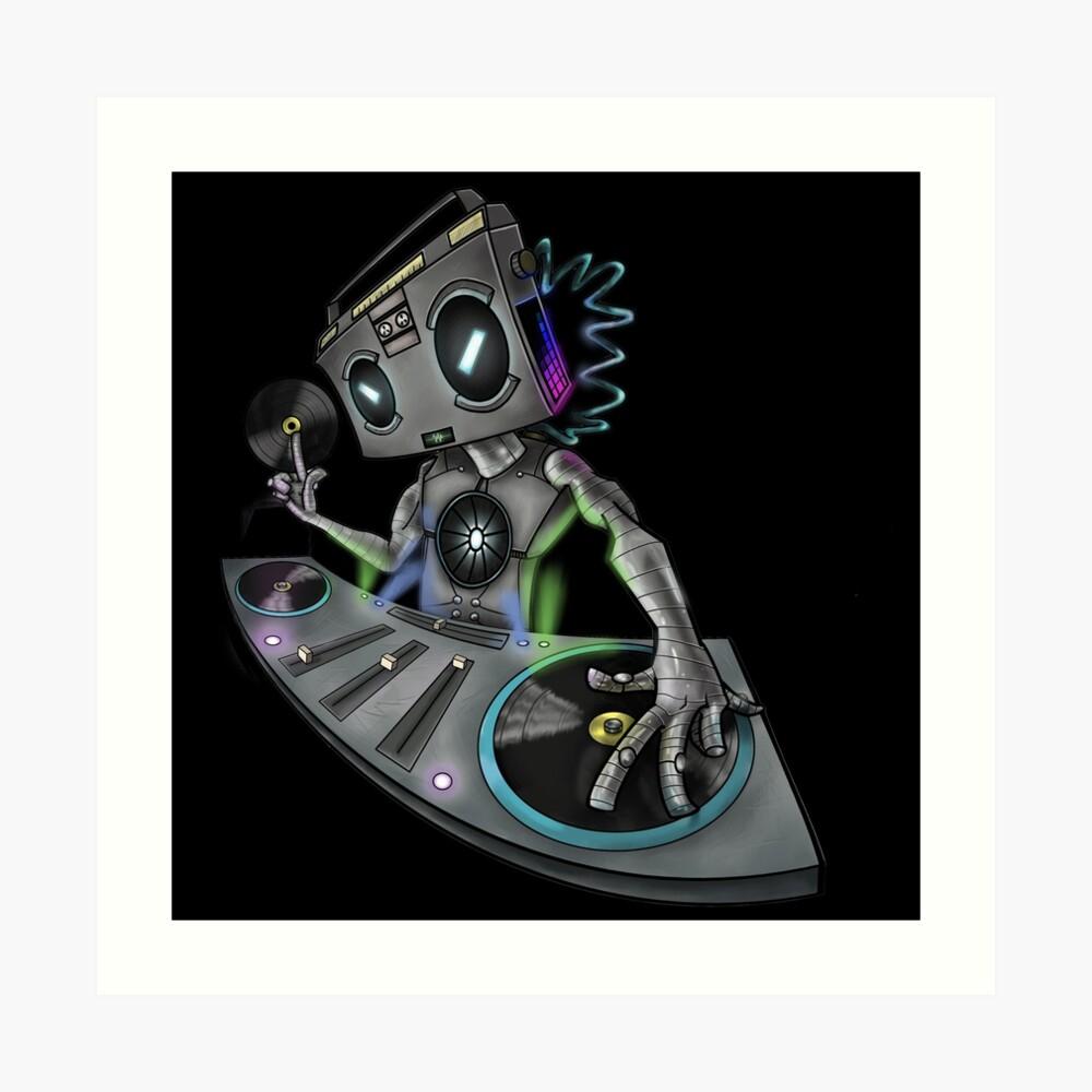 DJ Stereohead Art Print