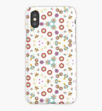 colorful ornamental lovely things seamless repeat pattern iPhone Case