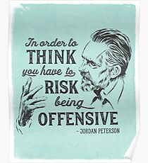 Jordan Peterson Illustration and Quote Poster