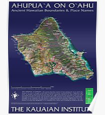 Ahupuaa on Oahu Poster