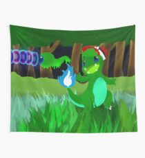 Pokemon painting Wall Tapestry