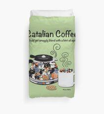 Café catalan Housse de couette