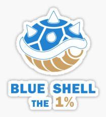 Blue Shell the 1% - Light Sticker