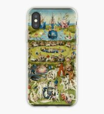 The Garden of Earthly Delights (1) -  Hieronymus Bosch  iPhone Case