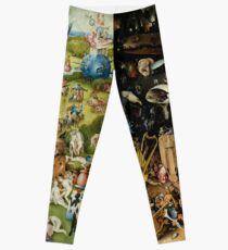 The Garden of Earthly Delights (1) -  Hieronymus Bosch  Leggings