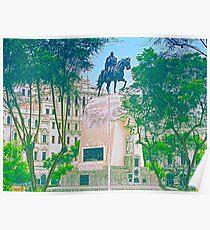 Plaza San Martin, Lima, Peru Poster