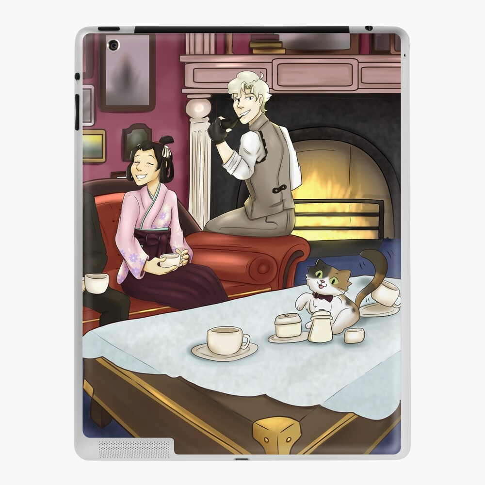 The Great Ace Attorney Ipad Case Skin By Luuuumaaaa Redbubble