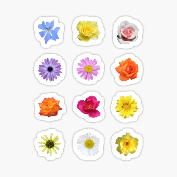 Mixed Floral Sticker