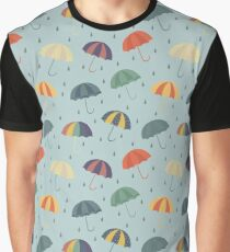 """I like people who smile when it's raining."" Graphic T-Shirt"