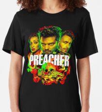 PREACHER IN THE BAYOU Slim Fit T-Shirt