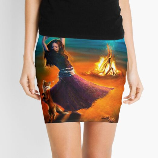 Dance Like a Dervish II Mini Skirt