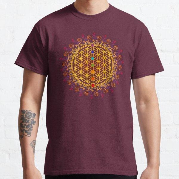 Blume des Lebens, Chakren, Yoga, Zen, Meditation Classic T-Shirt