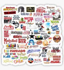musical theatre Sticker