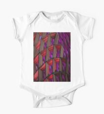 Hypnotzd Abstract architecture 90 One Piece - Short Sleeve