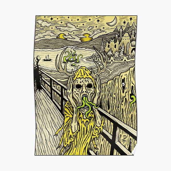 Scream in Yellow - Azhmodai 2018 Poster