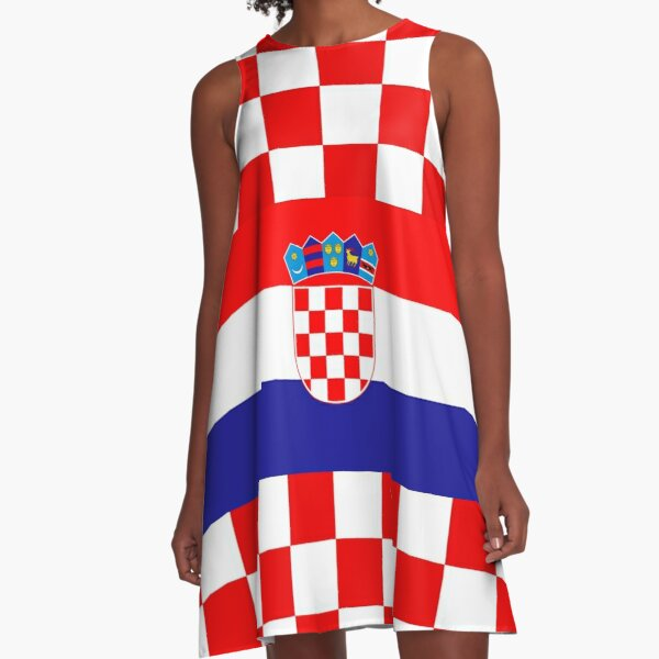 CROATIA 4 A-Line Dress