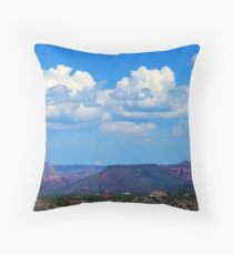 Redrock View Throw Pillow