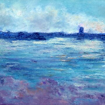 Cool Water (pastel) by nikihilsabeck