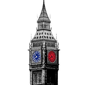 Big Ben by randomarthouse