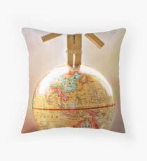 .world domination. Throw Pillow