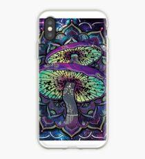 Trippy Shroom Art iPhone Case