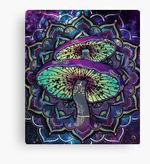 Trippy Shroom Art Canvas Print