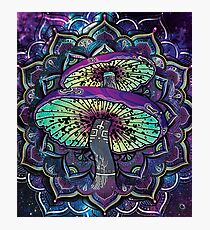 Trippy Shroom Art Photographic Print