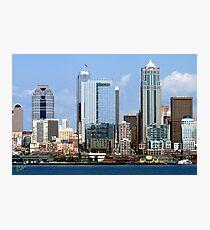Seattle Skyline Twelve Photographic Print