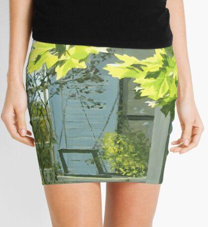 Rest a Minute Mini Skirt