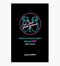 "San Junipero ""Heaven Is a Place on Earth"" Photographic Print"
