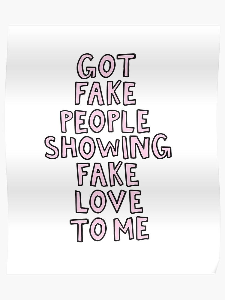 Sprüche über Falsche Leute