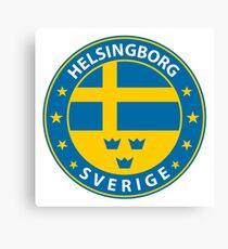 Helsingborg, Helsingborg Sweden, Helsingborg sticker, City of Sweden Canvas Print