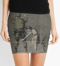 Banksy - The West Bank Mini Skirt