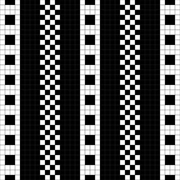 Subway Plaid Geometrics by xzendor7