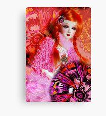 Pink Doll Canvas Print