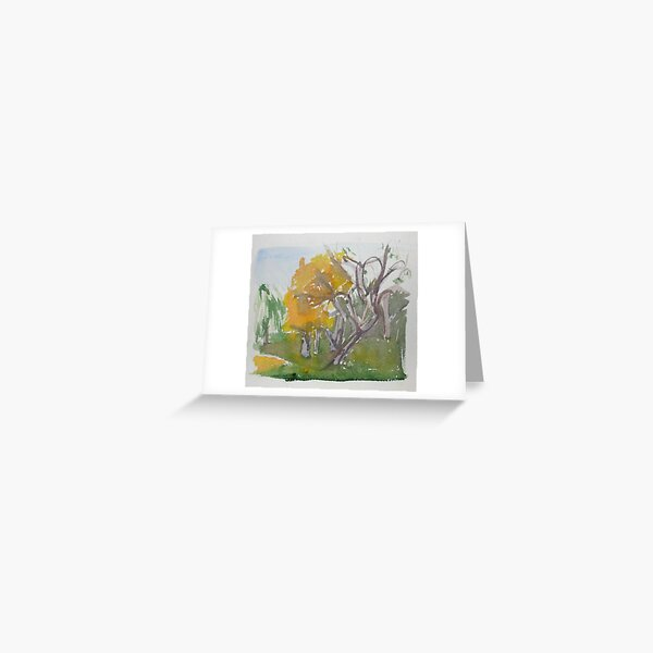 The Fens Greeting Card