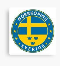 Norrköping, Norrköping Sweden, Norrköping sticker, City of Sweden Canvas Print