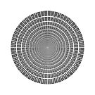 I Ching Hexagrams Circle 002 by Rupert Russell