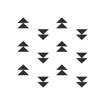 Mudcloth triangles arrows by hellcom