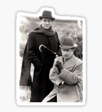 Holmes and Watson - Partners in the Perfection of Detection Sticker