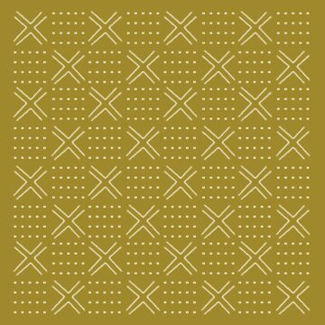Natural mudcloth pattern by hellcom