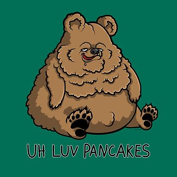 Pancake-Eating Bear by Jennifer-Smith